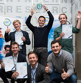 EIT Digital Challenge Finalists: Turnit, Rombit, Spacehive, Cleverciti and Parkd