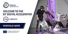 VRgineers joins EIT Digital Accelerator