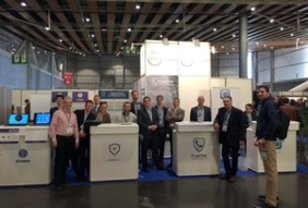 Sentryo on the EIT Digital stand at FIC 2016, the European reference event in Digital Trust, in Lille with other supported startups in the Privacy, Security & Trust Business Community.