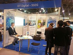 EIT Digital was presented at ITU Telecom World 2015 in Budapest