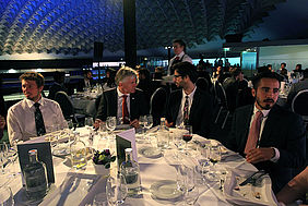 Gala Dinner, CEO and students