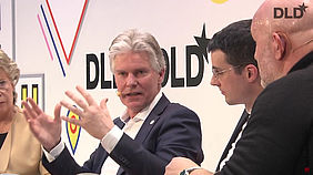 Willem Jonker, CEO EIT Digital at the DLD Conference 2017