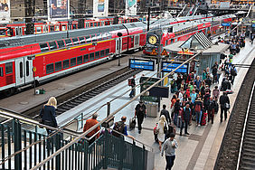 Deutsche Bahn is eager to use Ariadne Maps' indoor localisation technology.