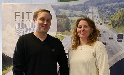 Teemu Harjula, Programme Manager Connectivity Solutions and Johanna Toivanen, Specialist SW, IoT, Wearables.