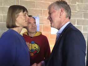 Estonian President Kersti Kaljulaid and EIT Digital CEO Willem Jonker met today during the Latitude59 event in Tallinn.