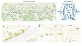 Ariadne Maps analytics for the transportation sector