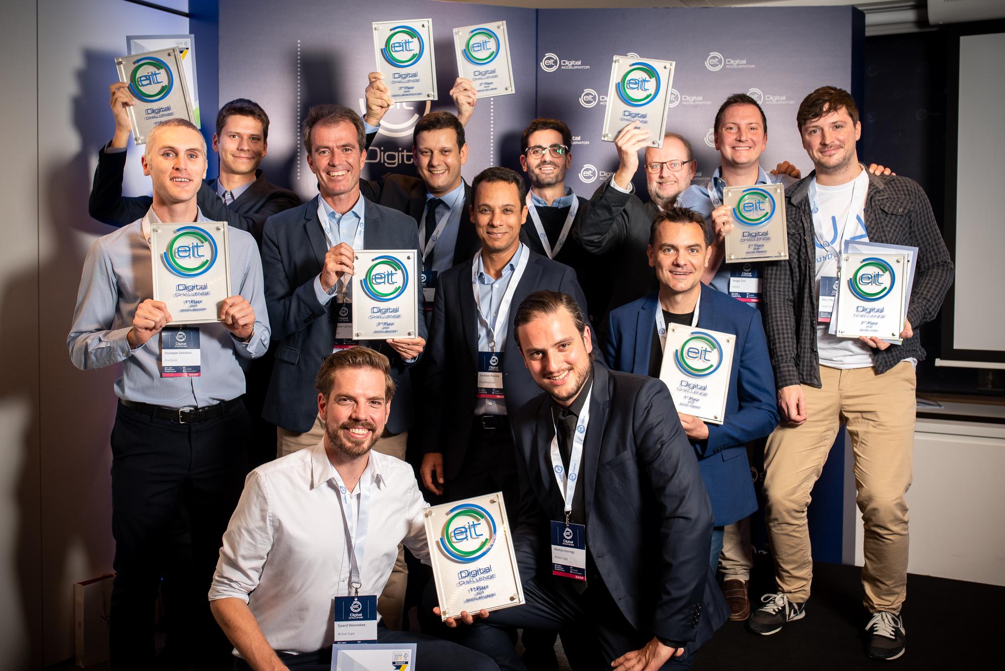 EIT Digital Challenge Winners 2018