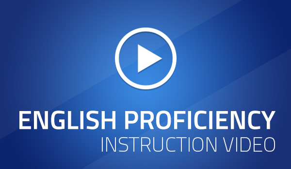 Video: English Proficiency