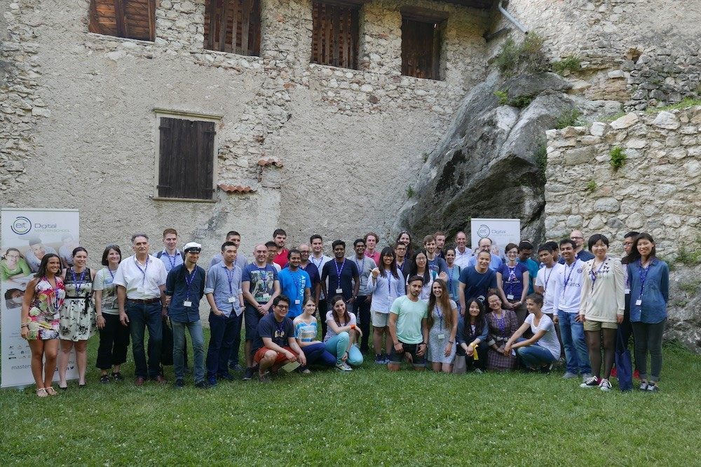 EIT Digital Summer School 2016 in Trento, Italy