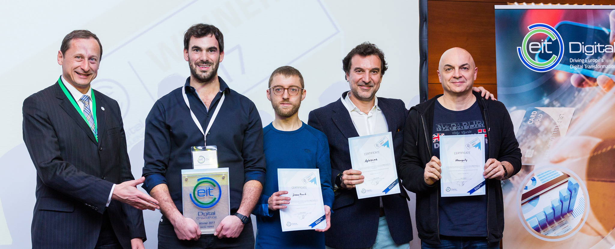 EIT Digital Challenge: OptioPay named Best Digital Finance Scaleup
