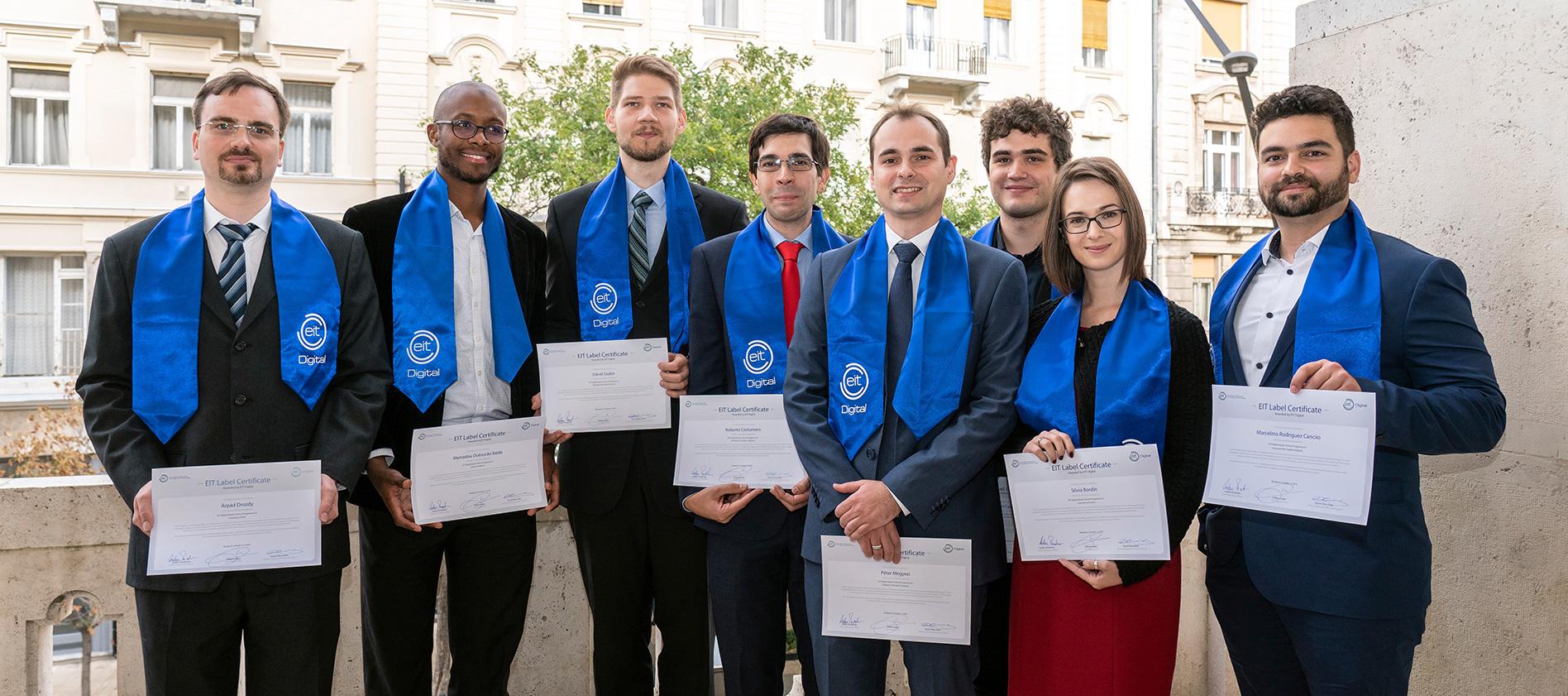 EIT Digital Doctoral School graduates