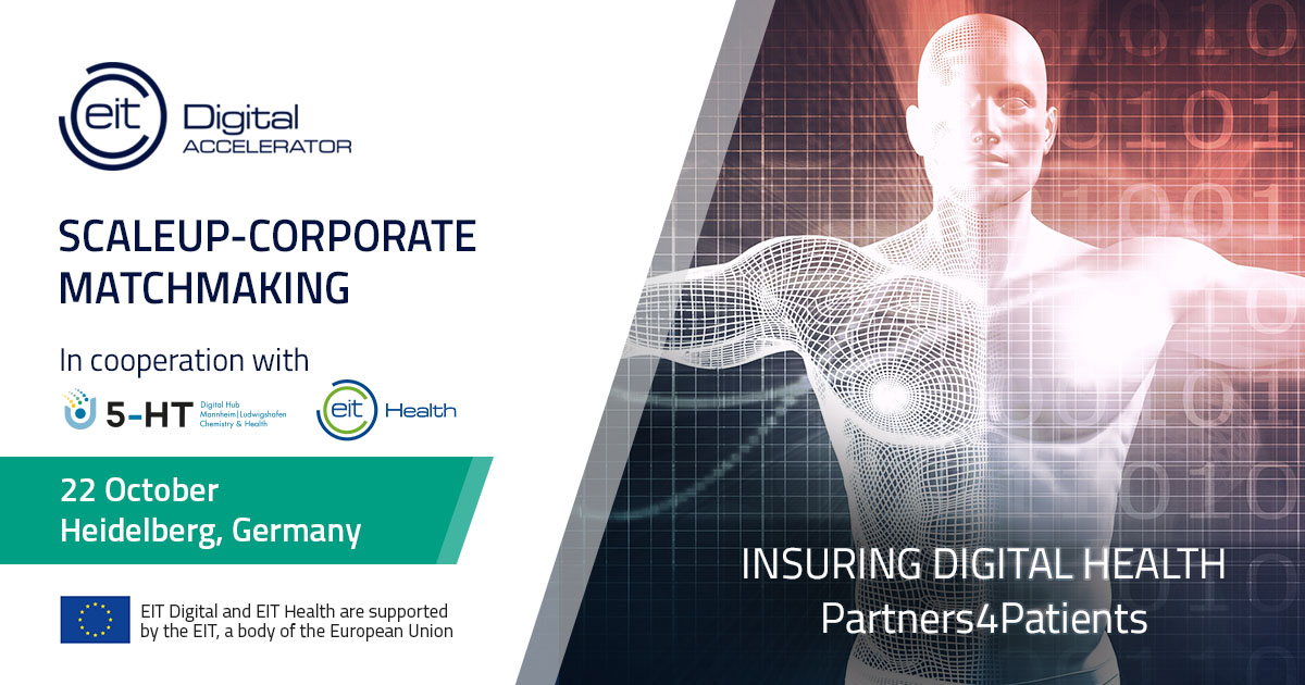Insuring Digital Health - A Corporate-Scaleup Matchmaking event (Germany)