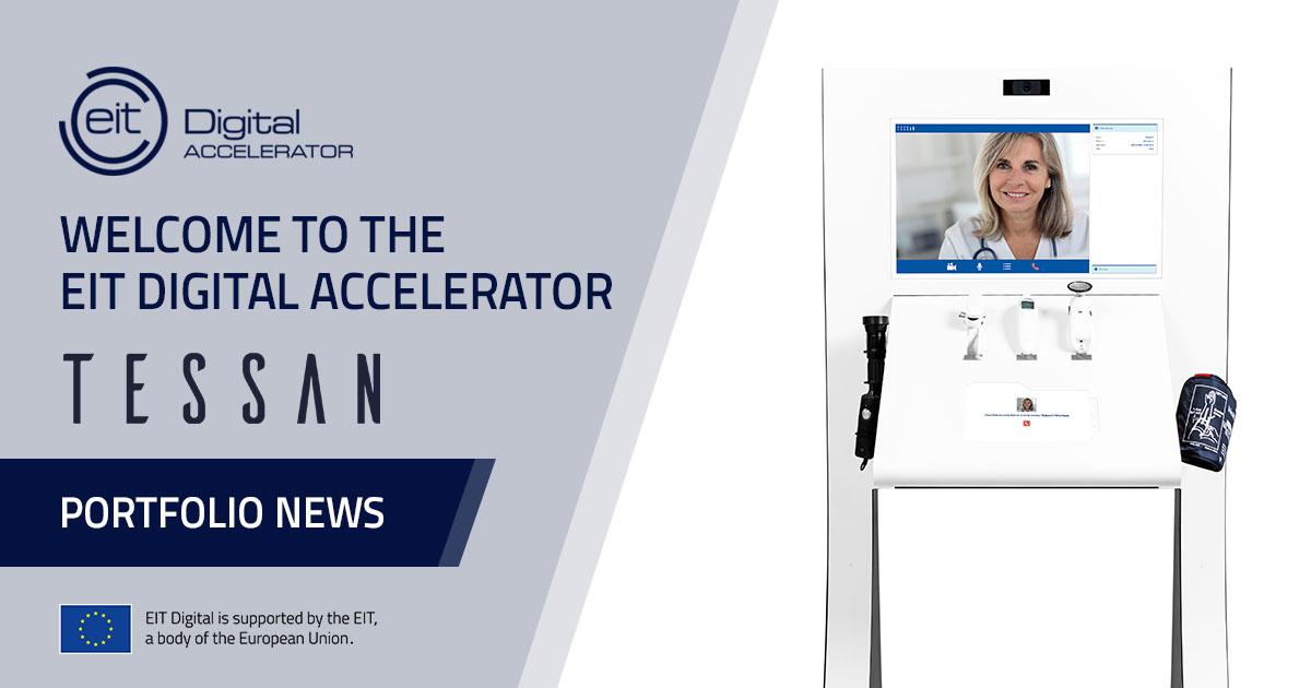 Tessan joins EIT Digital Accelerator
