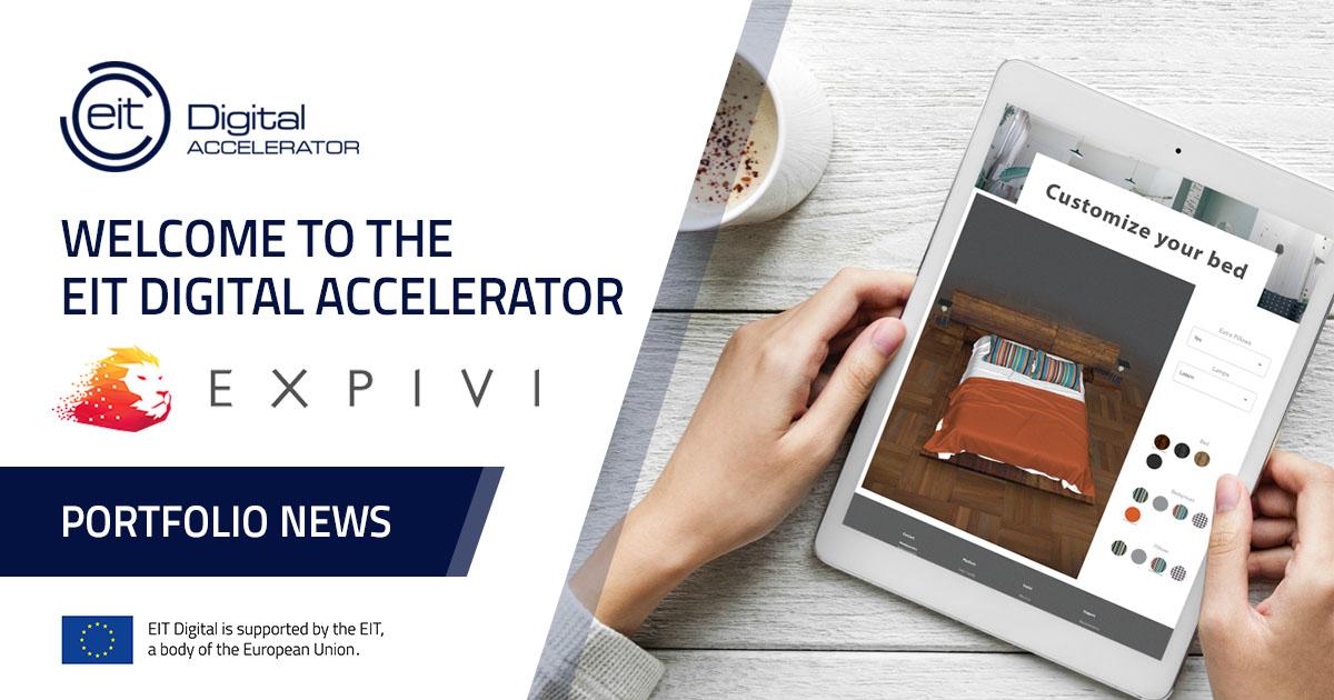 Expivi joins EIT Digital Accelerator