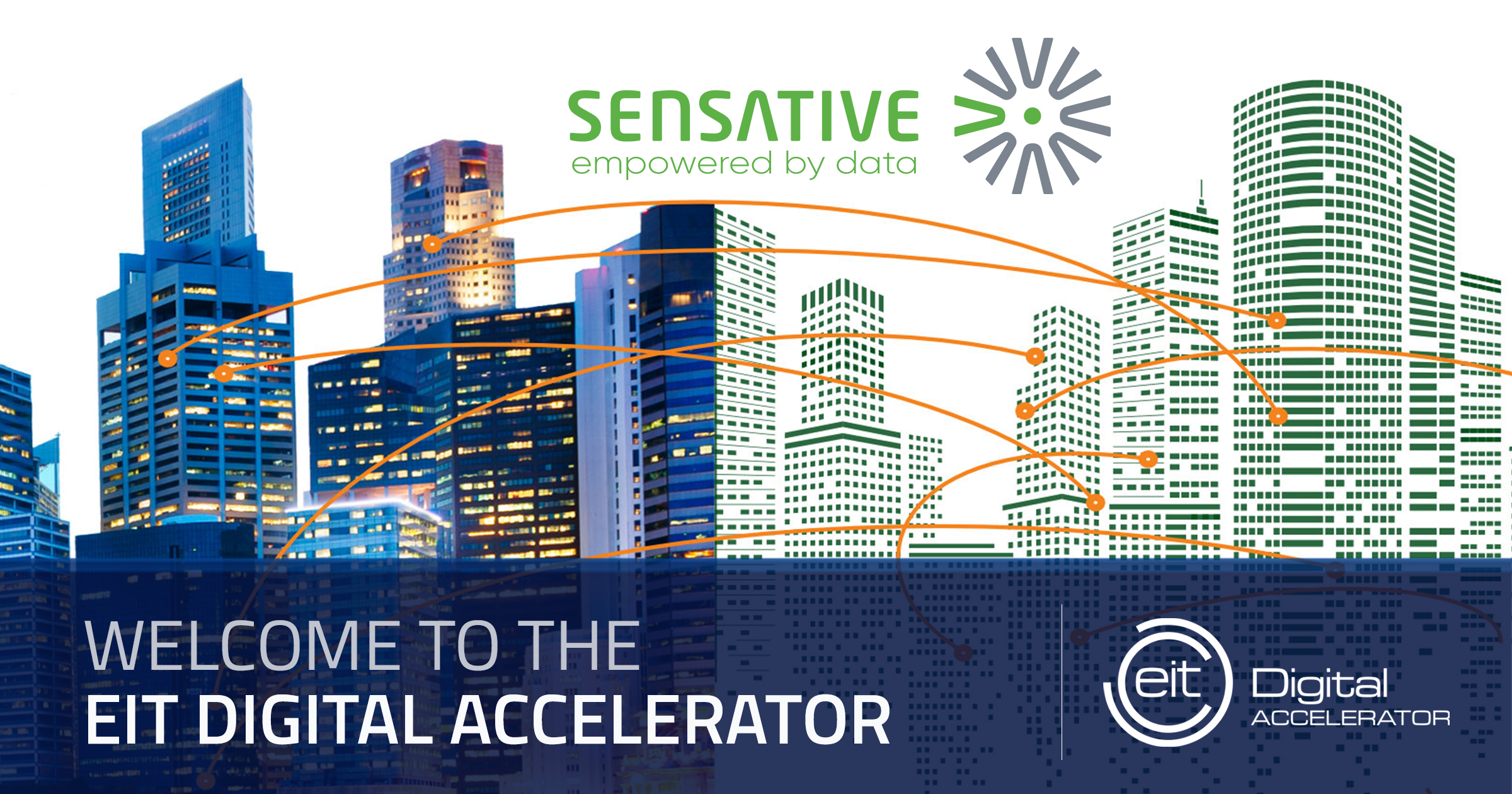 Sensative joins the EIT Digital Accelerator