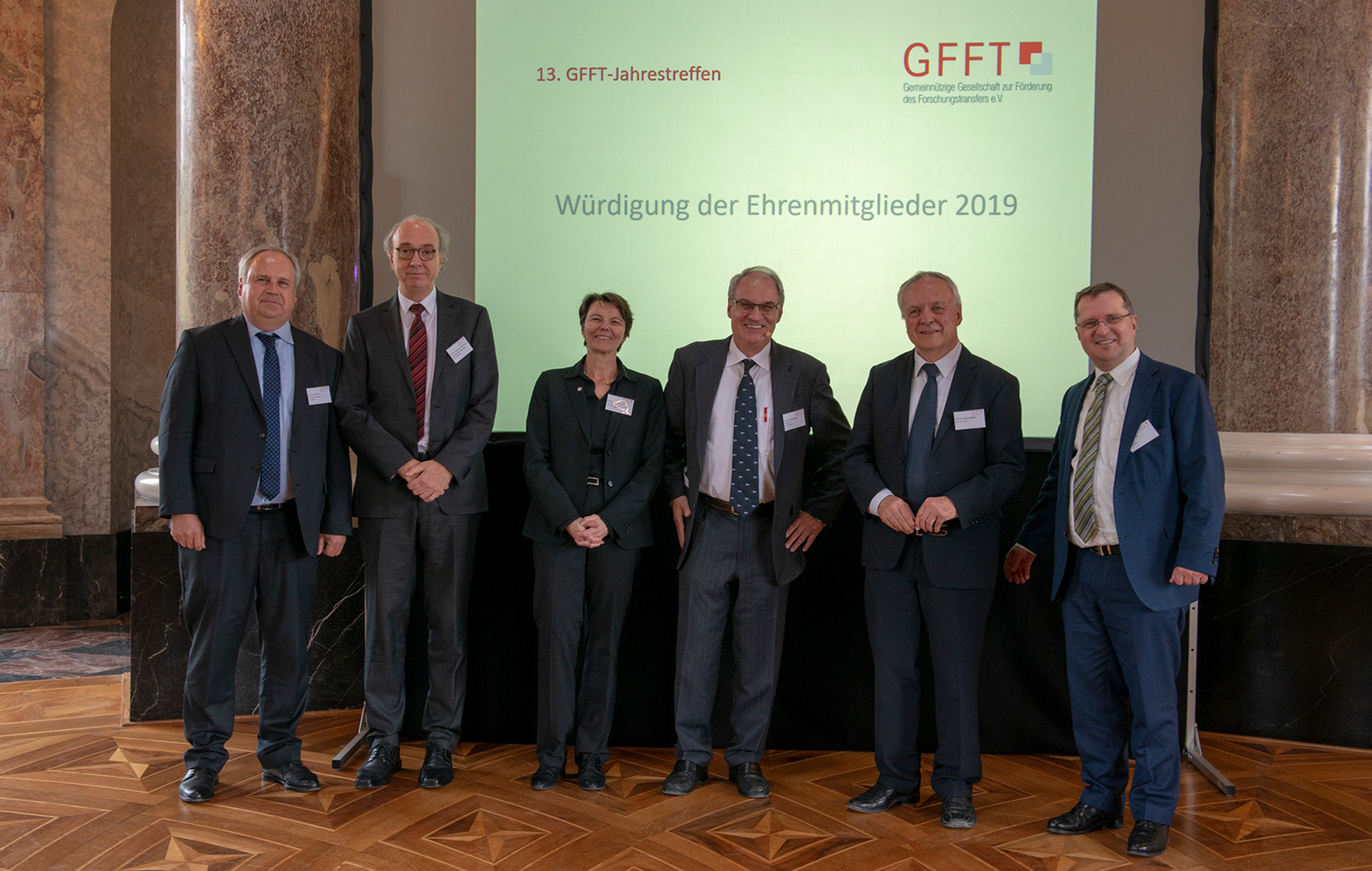 The Gesellschaft zur Förderung des Forschungstransfers (GFFT) awarded EIT Digital Supervisory Board Chairman Raymond Freymann with its Honorary Membership