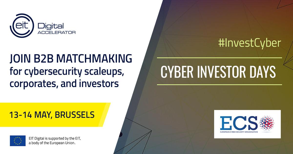 Cyber Investor Days - B2B Matchmaking (Brussels)
