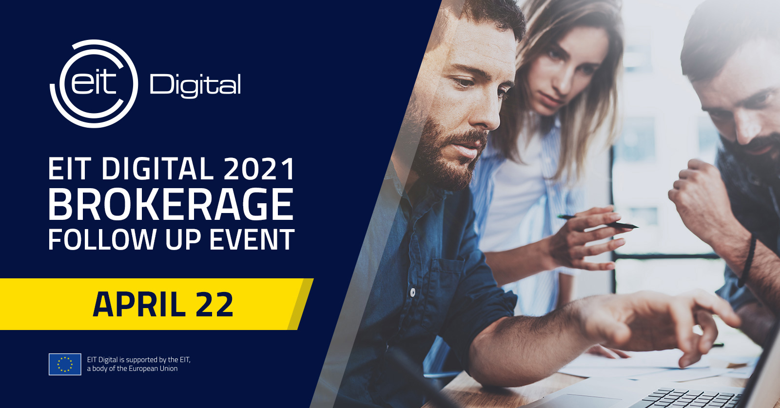 EIT Digital 2021: Brokerage Follow Up Event