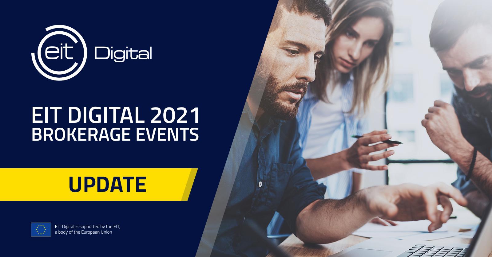 EIT Digital 2021: Brokerage Events
